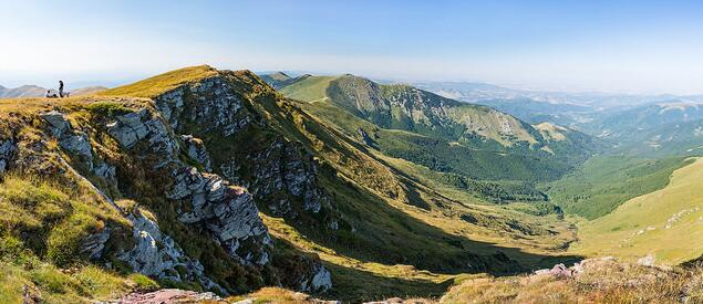 Balkan mountains in Bulgaria