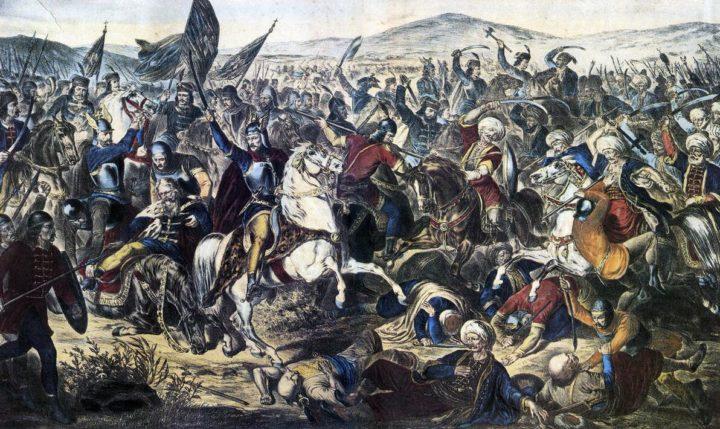 Battle of Kosovo Polka in 1389