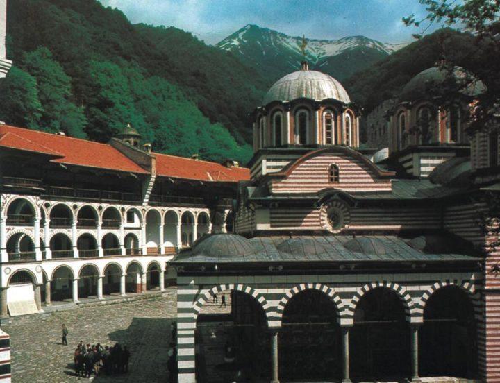 Byzantine-style Rila Monastery