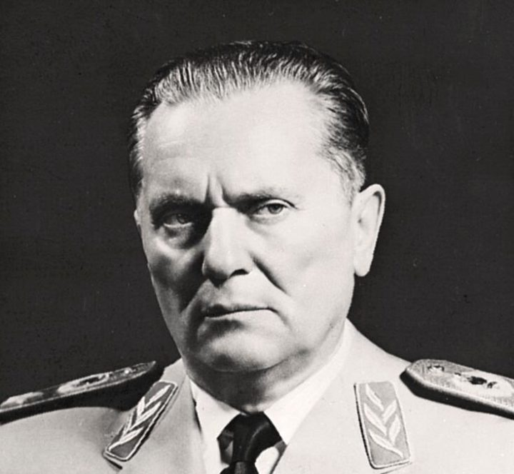 Josip Tito. Photo from the 1950s.