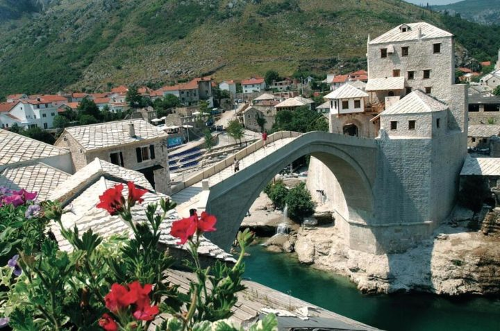 Town of Mostar