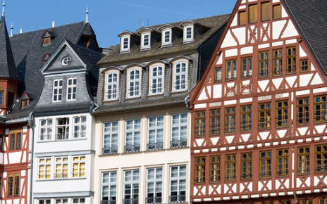 Traditional timbered houses, Frankfurt