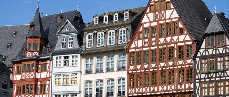 Traditional timbered houses, Frankfurt