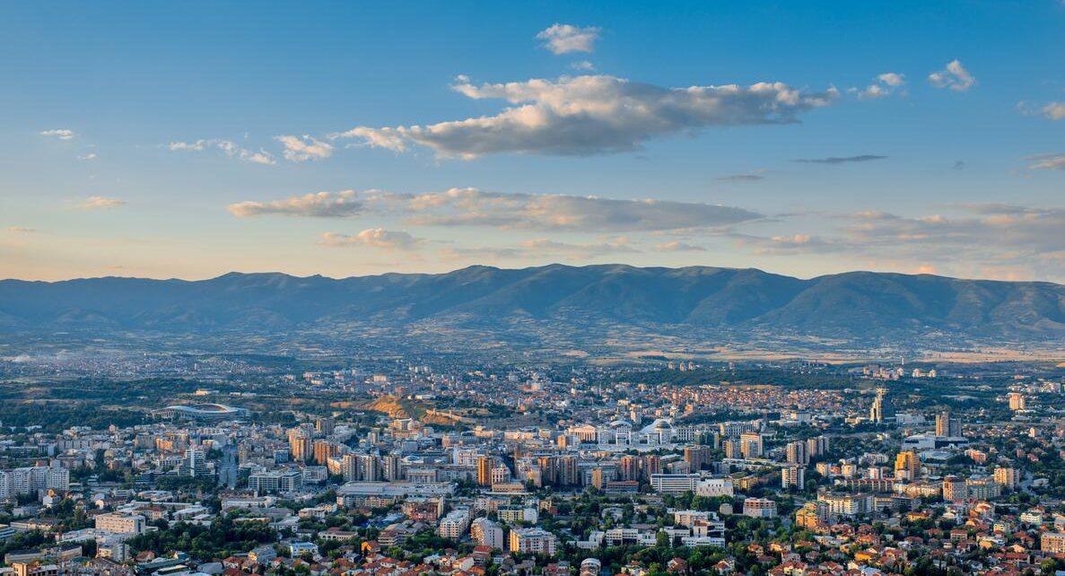 Skopje is the capital of Northern Macedonia