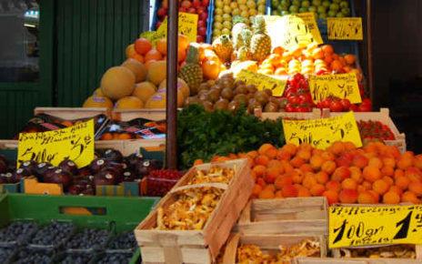 Market stall, Dusseldorf