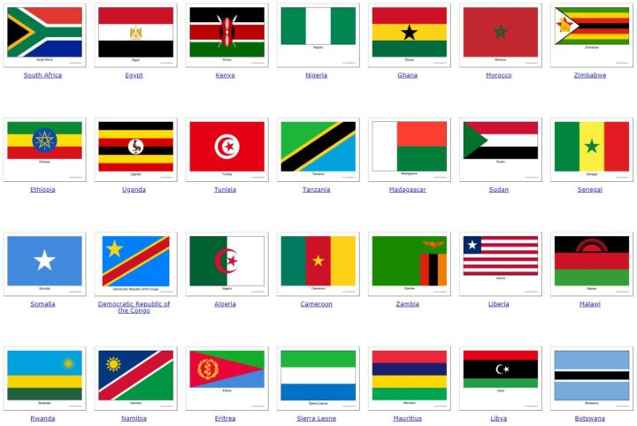 all African countries 1