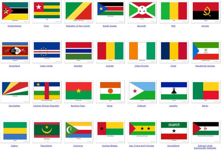 all African countries 2