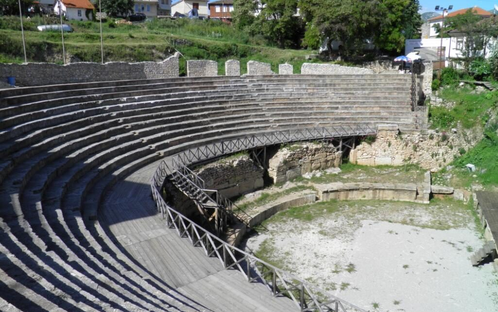 Theater in Northern Macedonia