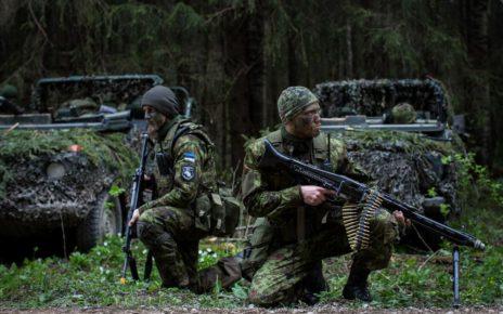 Estonia joined NATO in 2004 and borders Russia