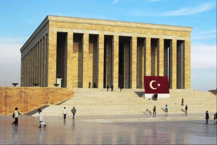 Mausoleum in Ankara Turkey