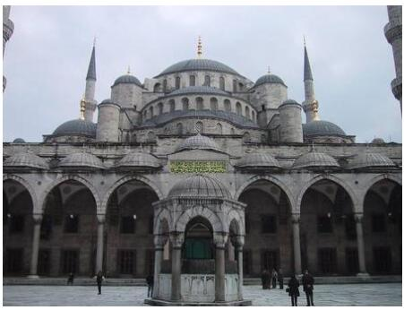 Sultanahmed Mosque in Istanbul