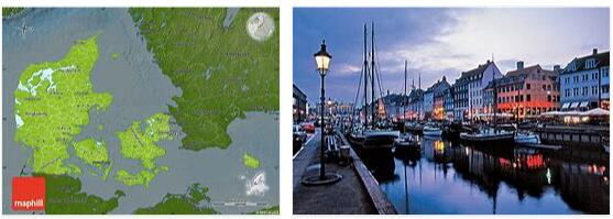 Denmark Geography