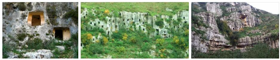 Syracuse and the Rock Tombs of Pantalica